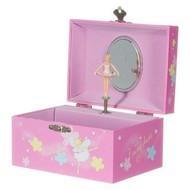 Simply for kids sieraden- en muziekdoosje ballerina roze