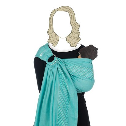 Babylonia BB-Sling ringsling draagdoek Turkish delight unpadded