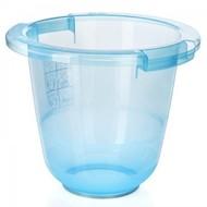 Tummy Tub bademmer blauw transparant
