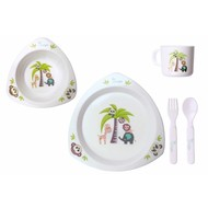 Bo Jungle B-Dinner set Triangle