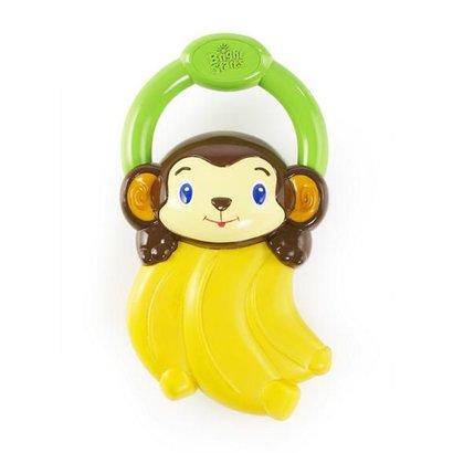 Bright Starts trillend grijp- en bijtspeelgoed banaan