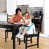 Ingenuity Baby Base 2 in 1 meegroei babystoel en stoelverhoger blauw
