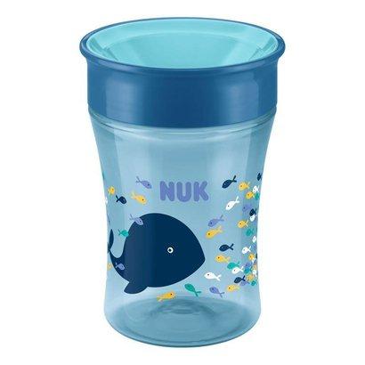 NUK Magic Cup drinkbeker walvis 250 ml