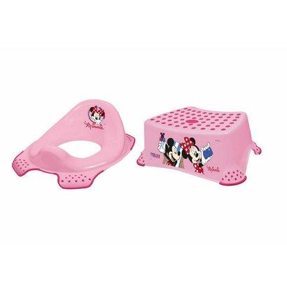 Keeeper toilettrainer en opstapje Minnie Mouse