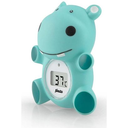 Alecto BC-11 badwater en kamer thermometer nijlpaard