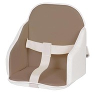 Candide High Chair stoelverkleiner - taupe/wit