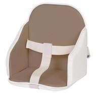 Candide High Chair stoelverkleiner - taupe/wit