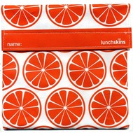 LunchSkins Sandwich bag - Orange Tangerine