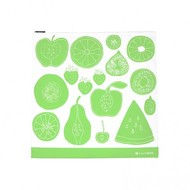 LunchSkins Sandwich zip bag - Green Fruit