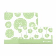 LunchSkins Sandwich zip bag -2-pack green fruit