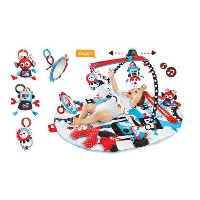 Yookidoo Gymotion Robo Playland 3 in 1 babyspeelkleed - Copy