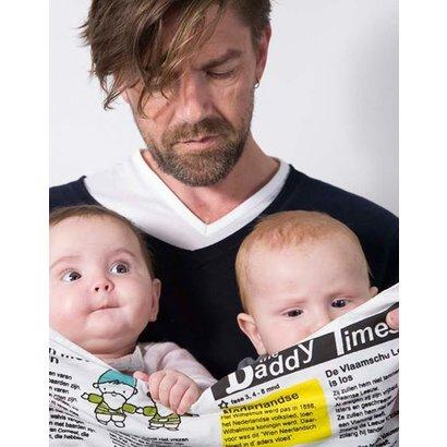 Qukel Knisperkrant, Daddy Times - Fase 3, 4-8 maanden