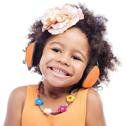 Alecto BV-71 gehoorbeschermer voor baby's en kinderen - oranje