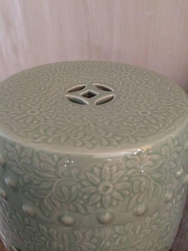 Chinese zetel licht groen