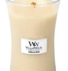 Woodwick, Large Candle Vanilla Bean