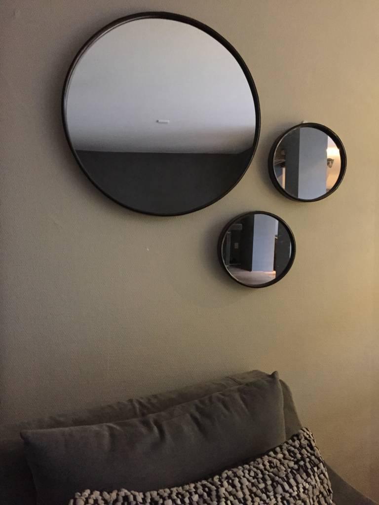 Spiegel rond (klein)