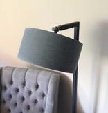 Vloerlamp Zwart metaal