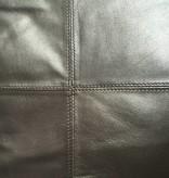 Bruin metallic kussen