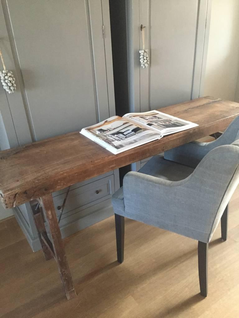 Vintage markt tafel