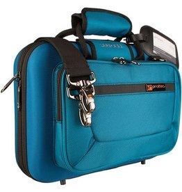 Protec besklarinet koffer teal blue