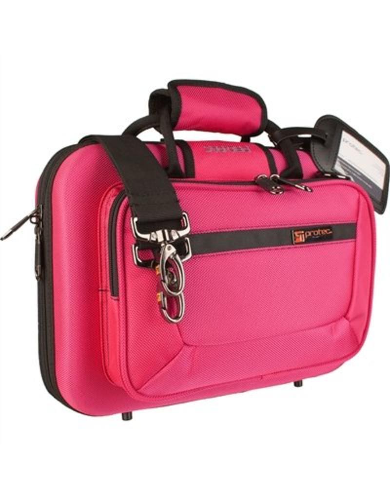 Protec Protec besklarinet koffer hot pink