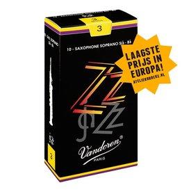 Vandoren sopraansaxofoon rieten Jazz