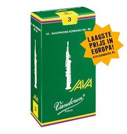 Vandoren sopraansaxofoon rieten Java