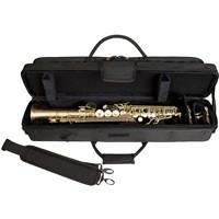 Protec Protec Sopraansaxofoon koffer zwart voor rechte sopraan sax