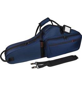 Protec tenorsaxofoon vorm koffer blauw