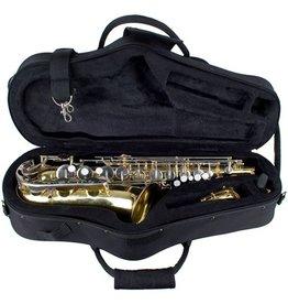 Protec MAX altsaxofoon vormkoffer Zwart
