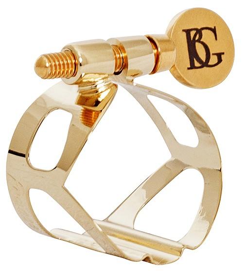 BG BG sopraansaxofoon rietbinder Tradition Goudlak