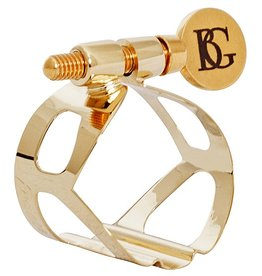 BG sopraansaxofoon rietbinder Tradition Verguld