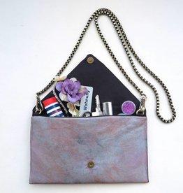 Simka Clutch / Shoulder Bag, Shiny, Simka