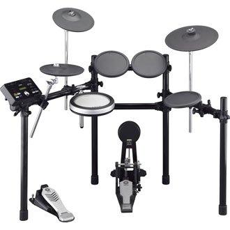 Yamaha YAMAHA DTX520K Elektronisch Drumstel demo + drumkruk, bassdrumpedal & stokken