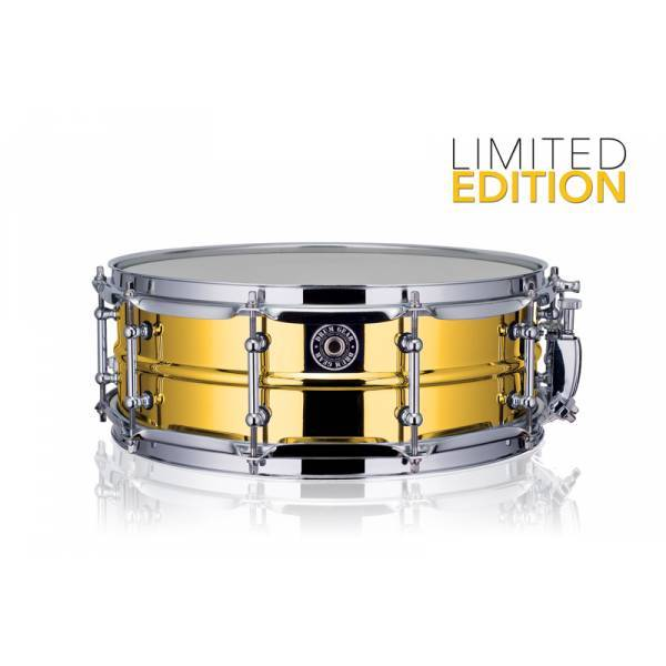 Drum Gear  snaredrum Gold Chrome Steel 14''x5'' Limited Edition S1450LTD
