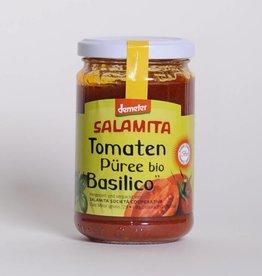 Salamita Tomatenpüree Basilico 250gr Demeter