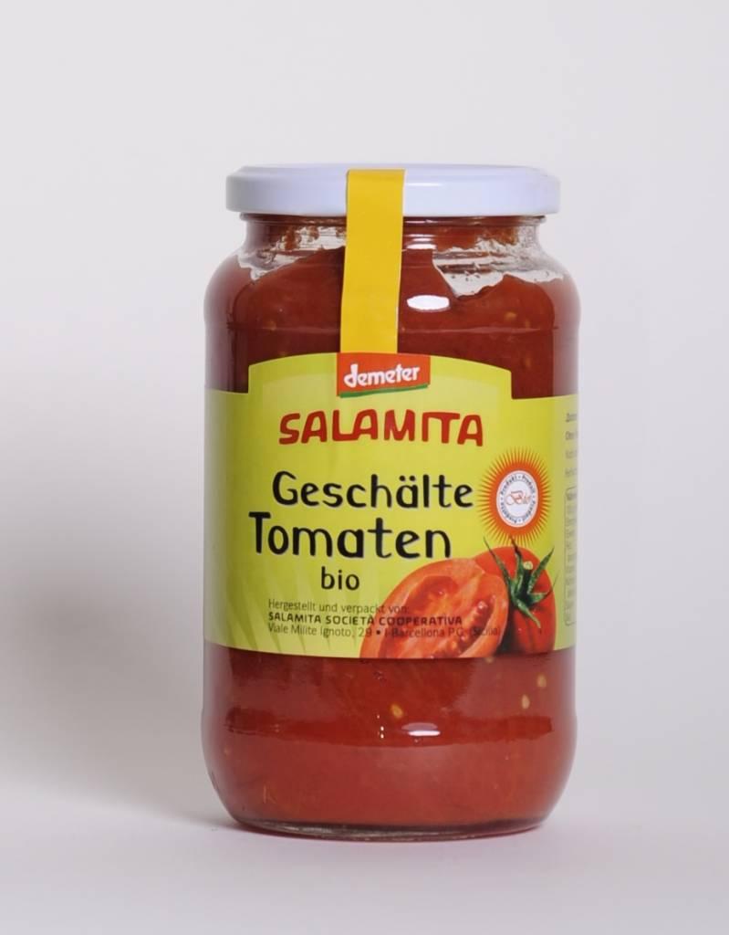 Salamita Geschälte Tomaten, 500gr im Glas
