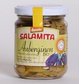Salamita Auberginen in Olivenöl Demeter