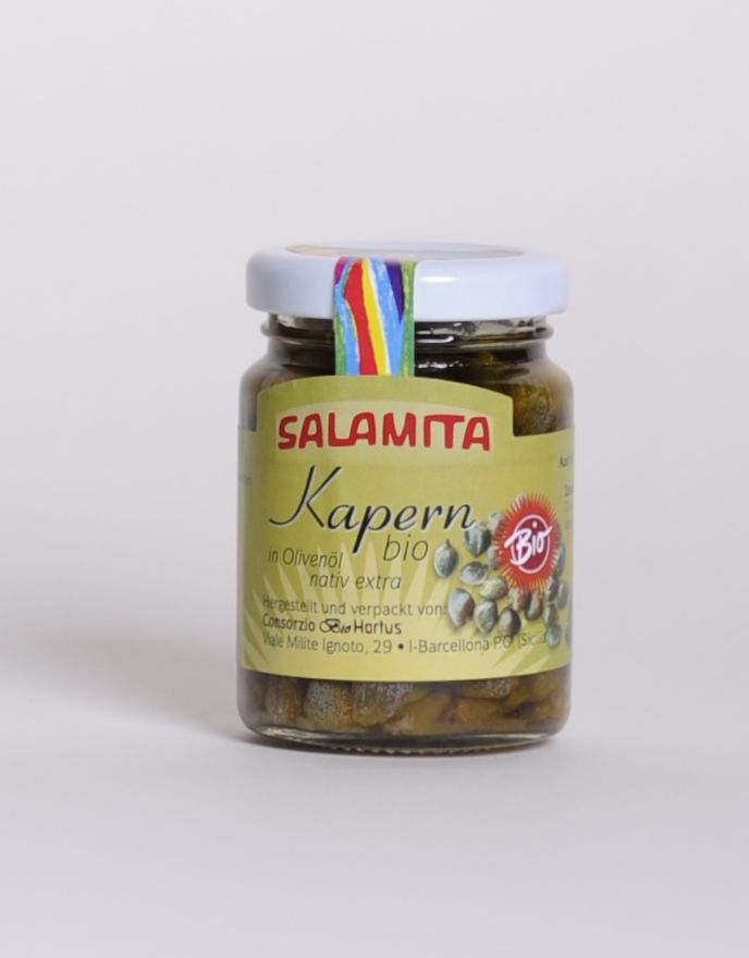 Salamita Kapern in Olivenöl, 90gr im Glas