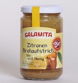 Salamita Zitronenbrotaufstrich mit Honig BIO