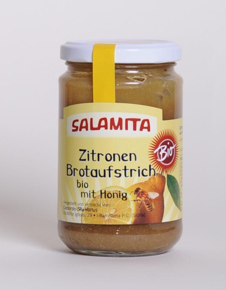 Salamita Zitronenbrotaufstrich mit Honig, 300gr im Glas