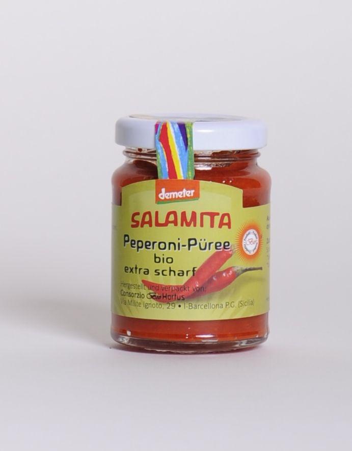 Salamita Peperoni Püree, 90gr im Glas