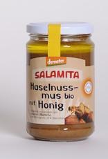 Salamita Haselnussmus mit Honig, 280gr im Glas