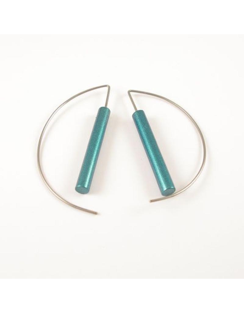 Modern Earrings - Turquoise