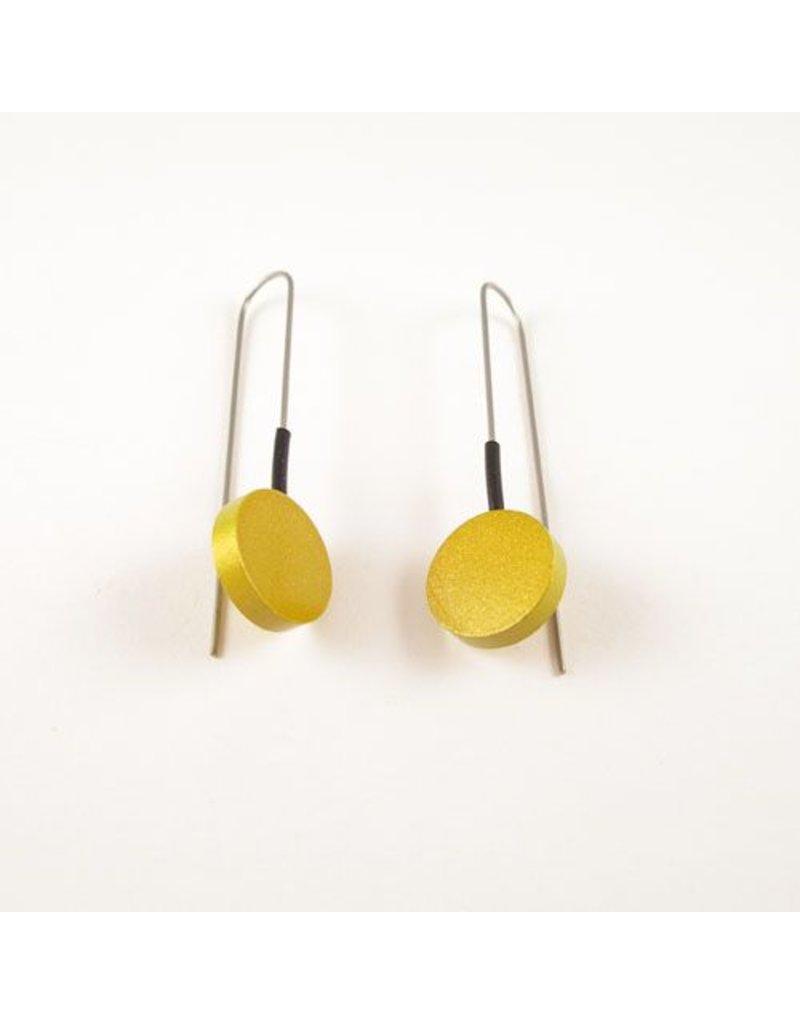 Modern Earrings Gold