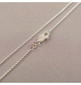 LAVI 100cm Zilveren ketting