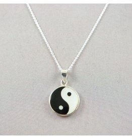 LAVI Yin Yang ketting Zilver