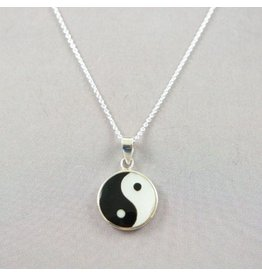 LAVI Yin Yang Necklace Silver