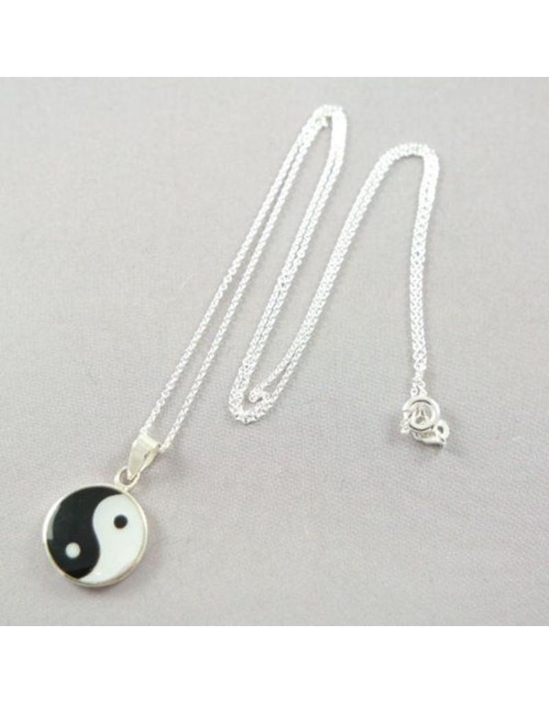 LAVI Yin Yang Necklace Silver