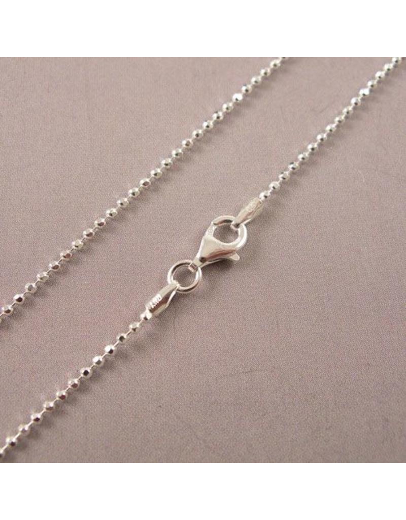 LAVI 42cm Silver Ball chain